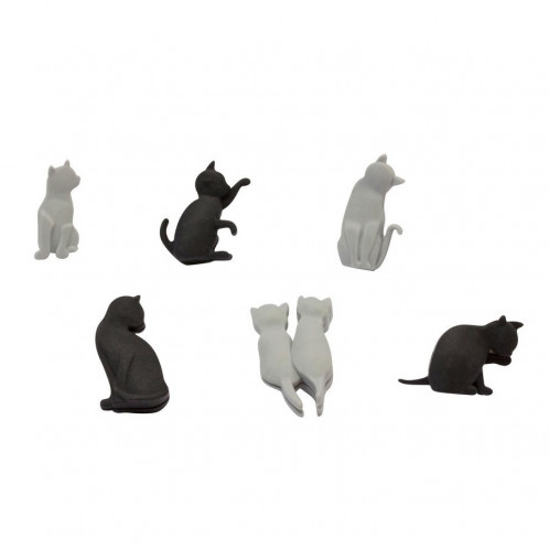 Glass Markers - Meow Cats