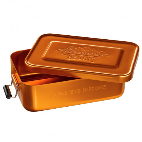 Lunchbox Tin - Gold Small