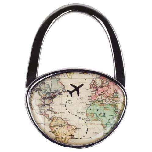 Bag Hanger - World Travel