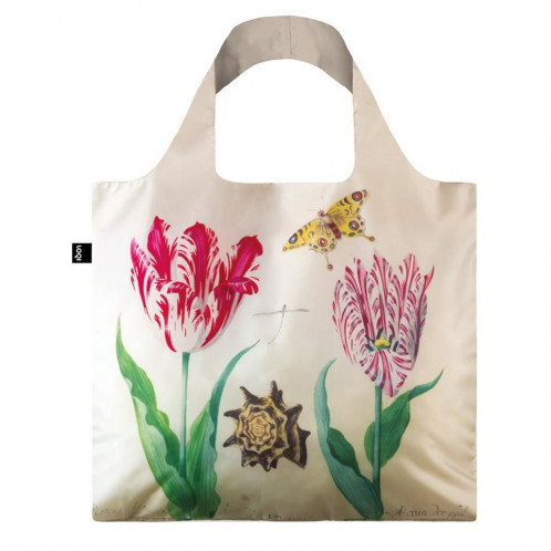 LOQI Tote Museum - Two Tulips