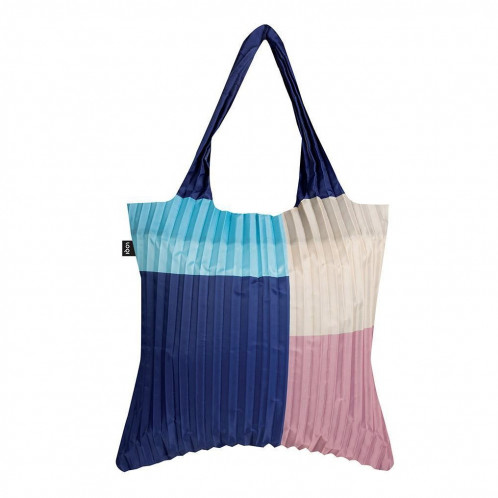 LOQI Pleated Bag - Cloud