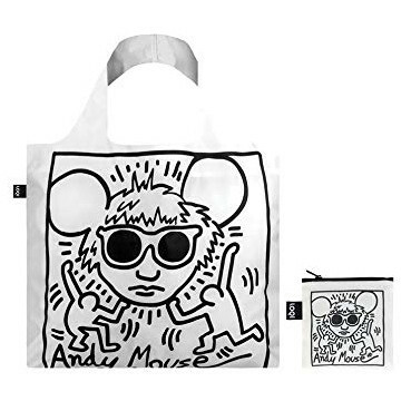 LOQI Tote Museum - Andy Mouse