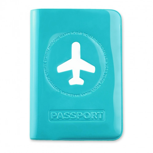 Passport Cover - Happy Flight Blue