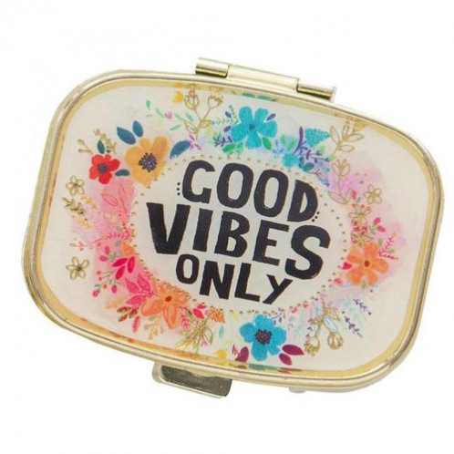 Pill Box - Good Vibes Only