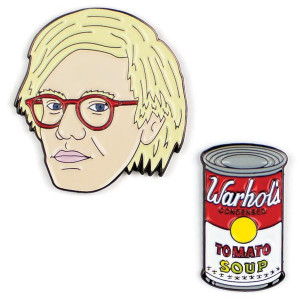 Pins - Warhol And Soup Can