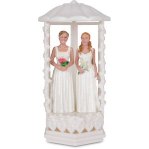 Cake Topper - Two Girls