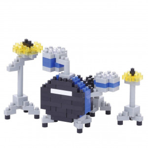 Nanoblock - Drum Set Blauw