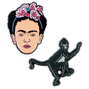 Pins - Frida And Monkey