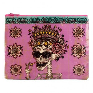 Zipper Pouch - Day of the Dead