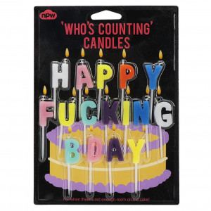 Candles - Happy Fucking Birthday