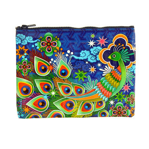 Zipper Pouch - Peacock