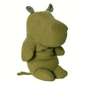 Safari Friends - Large Hippo Green