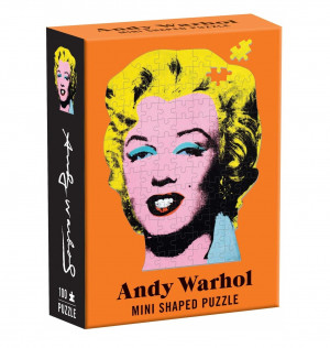 Andy Warhol Mini Shaped Puzzels| AboutNow.nl