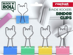 Binder Clips - B-indie Rockers