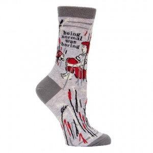Woman Socks - Normal Was Boring