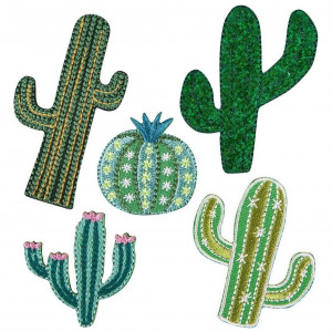 Iron On Patches - Cactus
