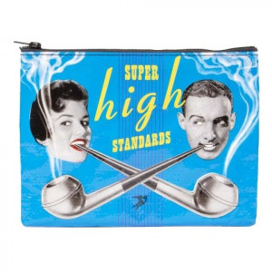 Zipper Pouch - Super High Standards