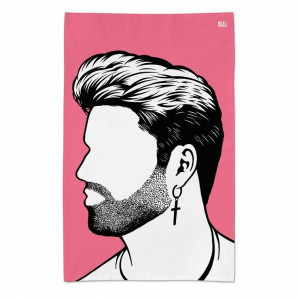 dish towel george michael aboutnow