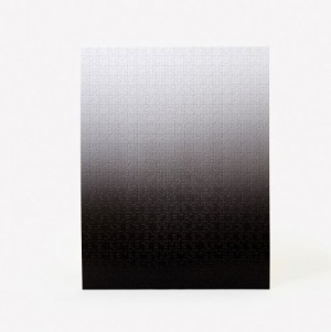 Gradient Puzzle  - black & White - 500 pieces