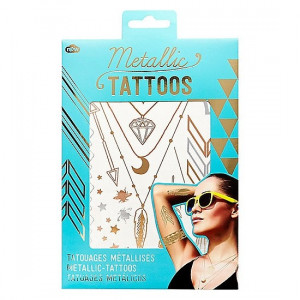 Tattoos - Metallic Gold