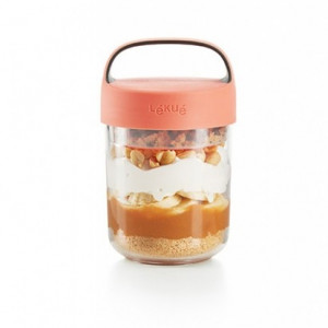 Jar To Go - 400ml Coral