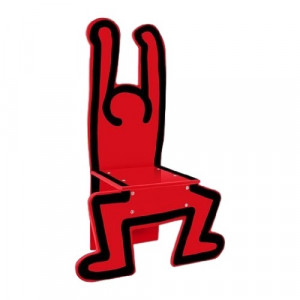 Keith Haring - Red Figure Chair