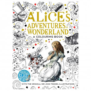 Kleurboek - Alice's Adventures in Wonderland
