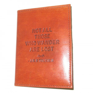 Passport Cover Leather - Tolkien