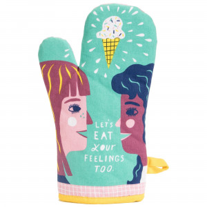 Dish Towel - Let's Eat Your Feelings Too