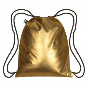 LOQI Backpack Metallic - Matt Gold