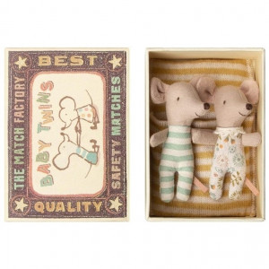 Mouse - Baby Twins In A Box
