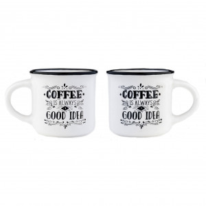 Espresso Mugs - Coffee