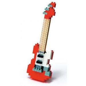 Nanoblock - Red Electric Guitar