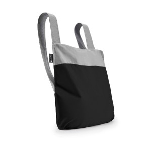 Backpack & Tote - Black/Grey