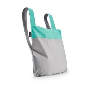 Backpack & Tote - Grey/Mint