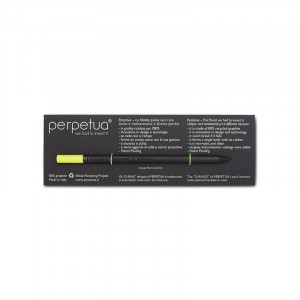 Perpetua Recycled Pencil - White