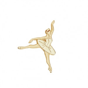 Pin - Ballerina Wit