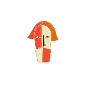 Pin - Malevich Head of a Peasant