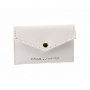 Envelope Purse - Hello Gorgeous (White)