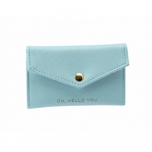 Envelope Purse - Hello You (Blue)