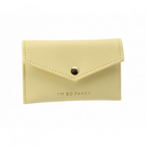 Envelope Purse - I'm So Fancy (Yellow)