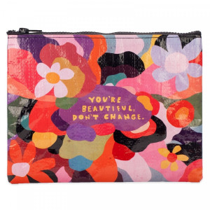 Zipper Pouch - You're Beautiful