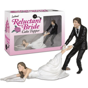 Wedding Couple - Reluctant Bride