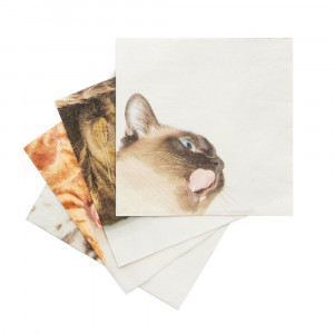 Napkins - Cat