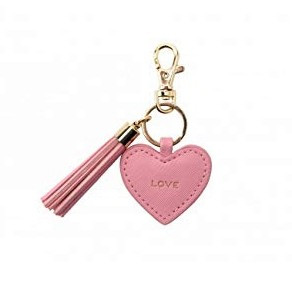 Key Ring Heart - Love (Pink)