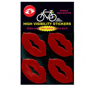 Glow Stickers - Lips Red