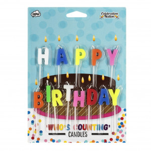 Who's Counting Candles - Happy Birt