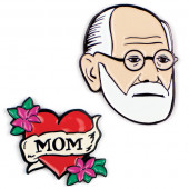 Pins - Freud & Mams