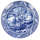 Schiffmacher Royal Delft  Blue Tattoo -Paaseiland