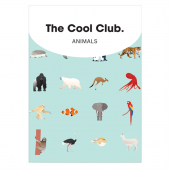 Speelkaarten - The Cool Club Animals